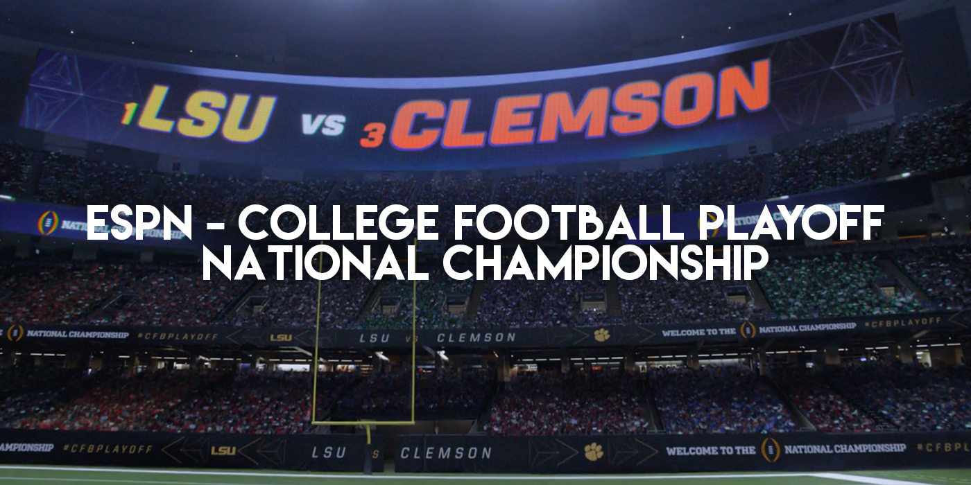 ESPN - College Football Playoff - National Championship